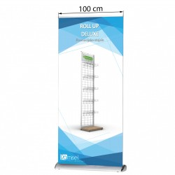 Roll-up stojalo - Deluxe - 1000 x 1600 do 2250  mm