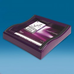Vijoličen gotovinski pladenj - 235 x 225 x 45 mm