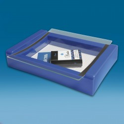 Moder displej gotovinski pladenj - 270 x 180 x 50 mm