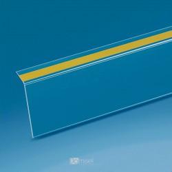 Censka letvica - 105° - prozorno lepilo, znotraj - D1000 x V40 x G20 mm