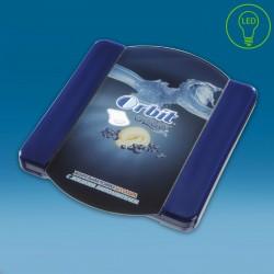 LED gotovinski pladenj - 210 x 175 x 35 mm
