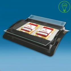 LED displej gotovinski pladenj - 280 x 235 x 50 mm