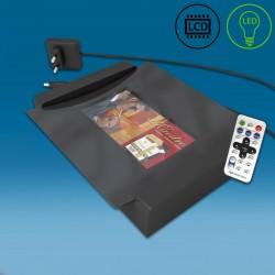 LED in LCD gotovinski pladenj - 280 x 235 x 50 mm