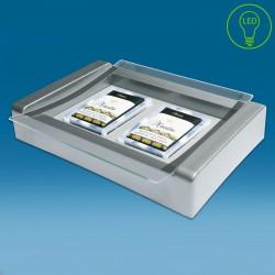 LED displej gotovinski pladenj s tiskom CMYK - 270 x 180 x 50 mm