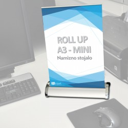 Roll-up mini - A3 - 297 X 420 mm