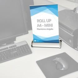 Roll-up mini - A4 - 210 X 297 mm