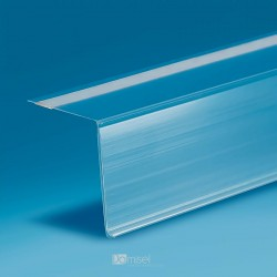 90° Samolepilne censke letvice - ekstrudirane - 40 x 1000 mm