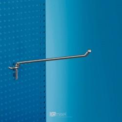 Kovinska enojna za perforacijo kljukica - 200 - Ø 5 mm - nikelj