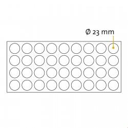 Okrogle samolepilne penaste blazinice - Ø 23 mm
