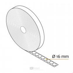 Ježek okrogle blazinice v roli -  Ø16 mm