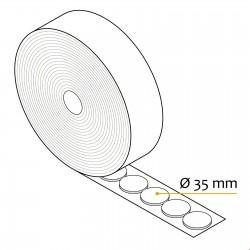 Ježek okrogle blazinice v roli - Ø 35 mm