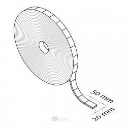 Ježek pravokotni trak v roli - 20 x 50 mm