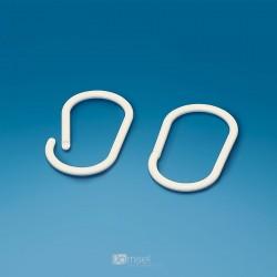 Plastičen ovalni razcepni obroček