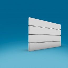 Alu lamelni profil za lamelne stene - DVOJNI