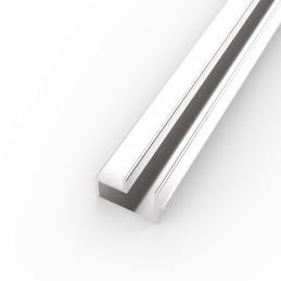 Alu lamelni profil za lamelne stene - ENOJNI - D1000