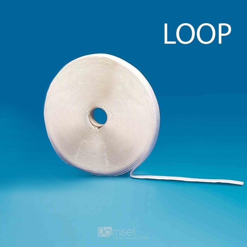 Samolepilni ježek trak 25m x 2 cm mehka stran (loop)