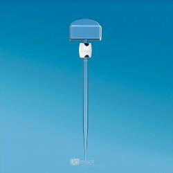Plastična Igla z nosilcem za prikaz cene - 100 mm