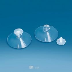 Prozoren vakuumski prisesek Ø 45 mm, s pritrdilno sponko - Ø 16 mm