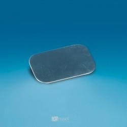 Kovinska ploščica za magnete