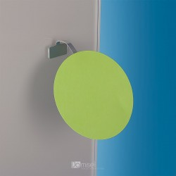 Kovinski gibljiv označevalec polic - 30 x 75 mm