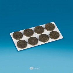 Smolepilni filci - V3.5 Ø24 - črna