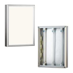 """Stenski enostranski okvir z """"LED"""" 70 x 14 x 100 cm"""