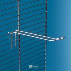 Kovinska dvojna kljukica za žične ograje