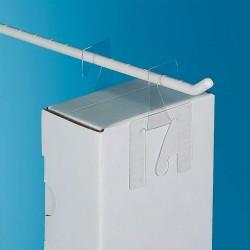 Odprti zložljiv samolepilni obešalnik za izdelke - V42.5 D46