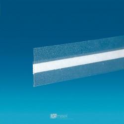 Censka letvica - prozorno lepilo, sredina - 40 x 530 mm