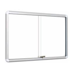 Stenske vitrine z magnetno tablo