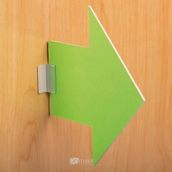 Pokončna prijemalka/gripper za komunikacije - debelina do 3 mm - 25 x 25 mm