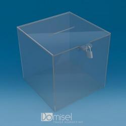 Pleksi steklena škatla za...