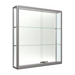 Stenska vitrina z drsnimi vrati 100 x 100 x 15 cm