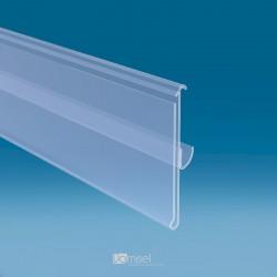 Censka letvica - 27° - za regale - ekstrudirana - D1000 V60 G15