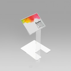 Pultno stojalo za kartice in vizitke - 95 x 80 mm