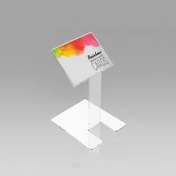 Pultno stojalo za kartice in vizitke - 65 x 80 mm
