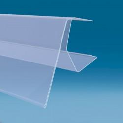Censka letvica za police od 18 do 22 mm - 40 x 1000 mm