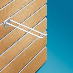 Plastična dvojna lamelna kljukica z nosilcem za ceno - 50/100/150/200/250 mm