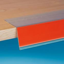 105° nagnjene censke letvice - ekstrudirane - 32 X 1000 - prozorno lepilo