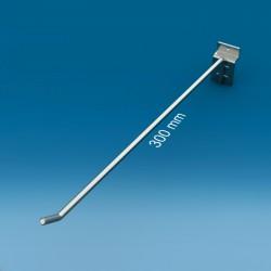 Kovinska enojna lamelna cinkana kljukica  - 300 mm